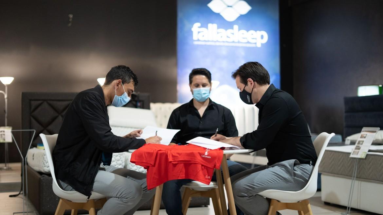 Fallasleep é o novo Main Sponsor do CD Trofense